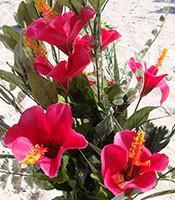greenery-pink-hibiscus