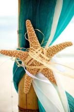 Nautical Beach Wedding Decor