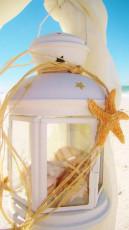 White Lantern - Beach Wedding Decor