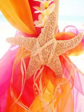 Colorful Beach Wedding Decor