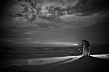 Siesta Key Beach Wedding Sunset