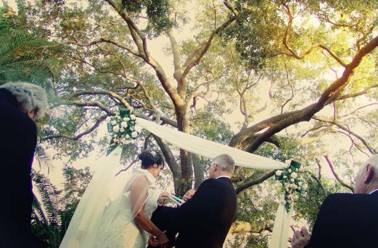 Sarasota Garden wedding