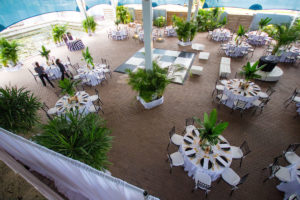 Florida aquarium destination wedding venue