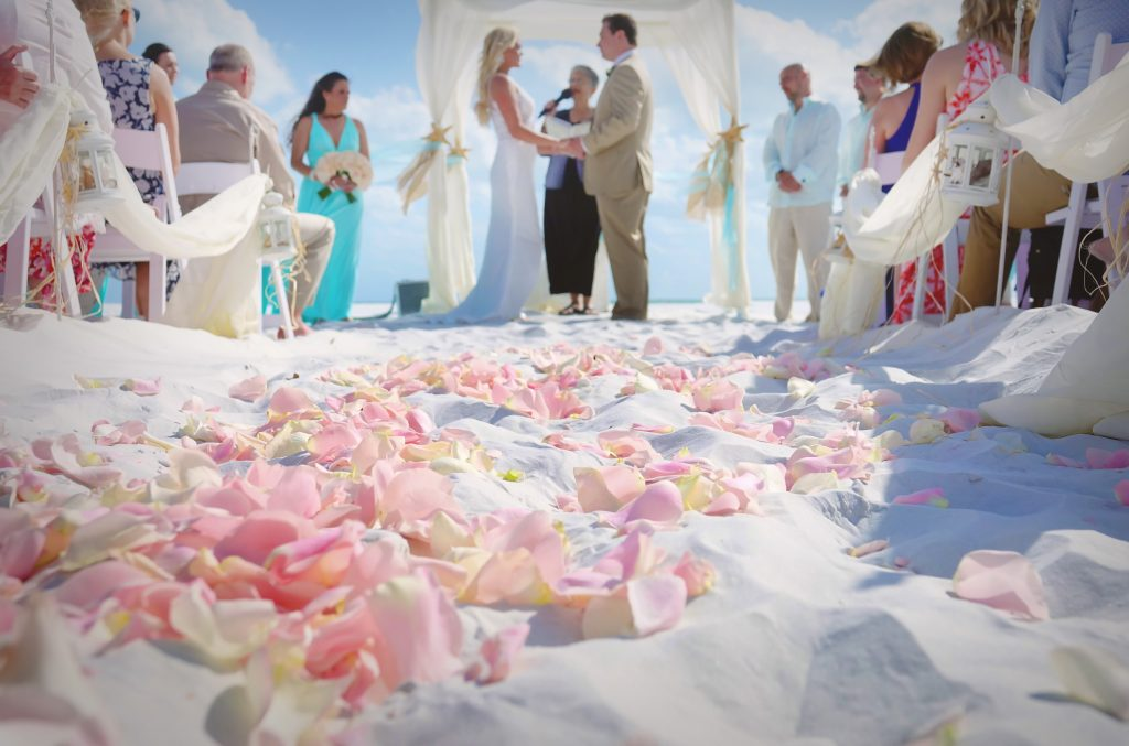 Tented Wedding Receptions On Sarasota Beaches