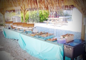 beach bbq wedding 5