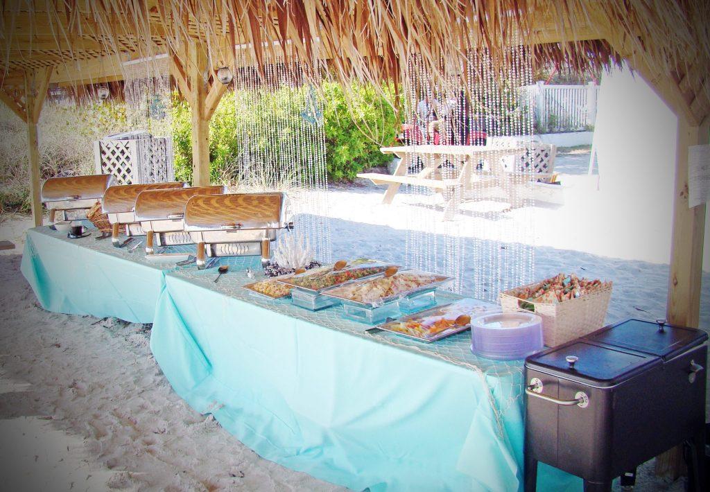 Florida Beach BBQ Wedding