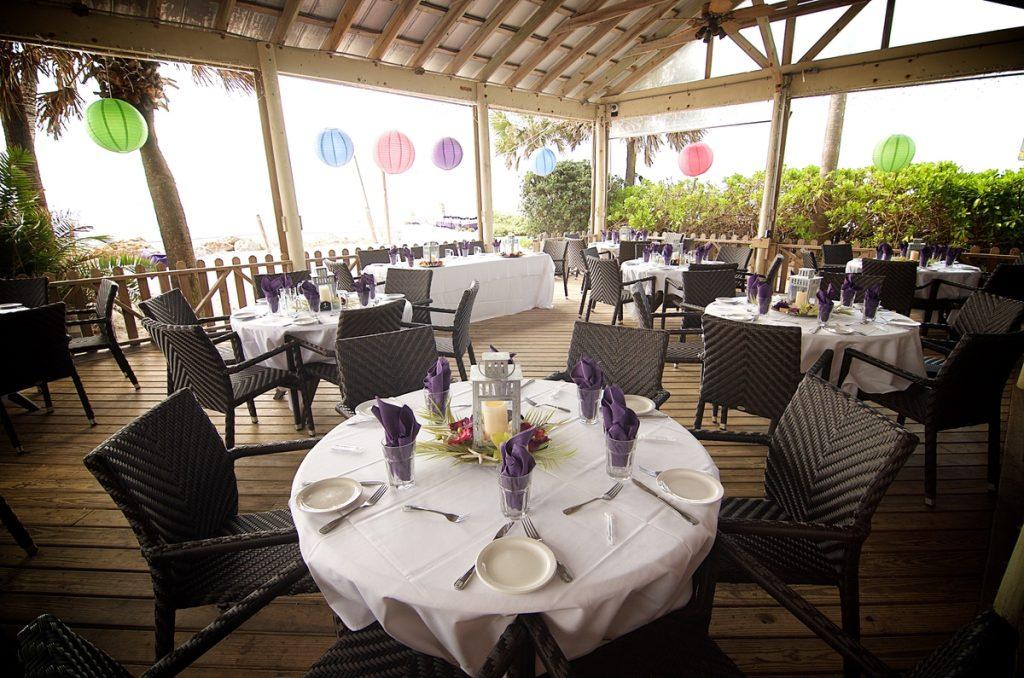 Florida beach reception