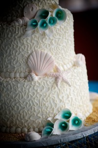 beach wedding cake 6