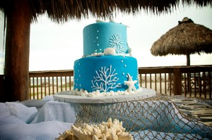beach wedding cake 7