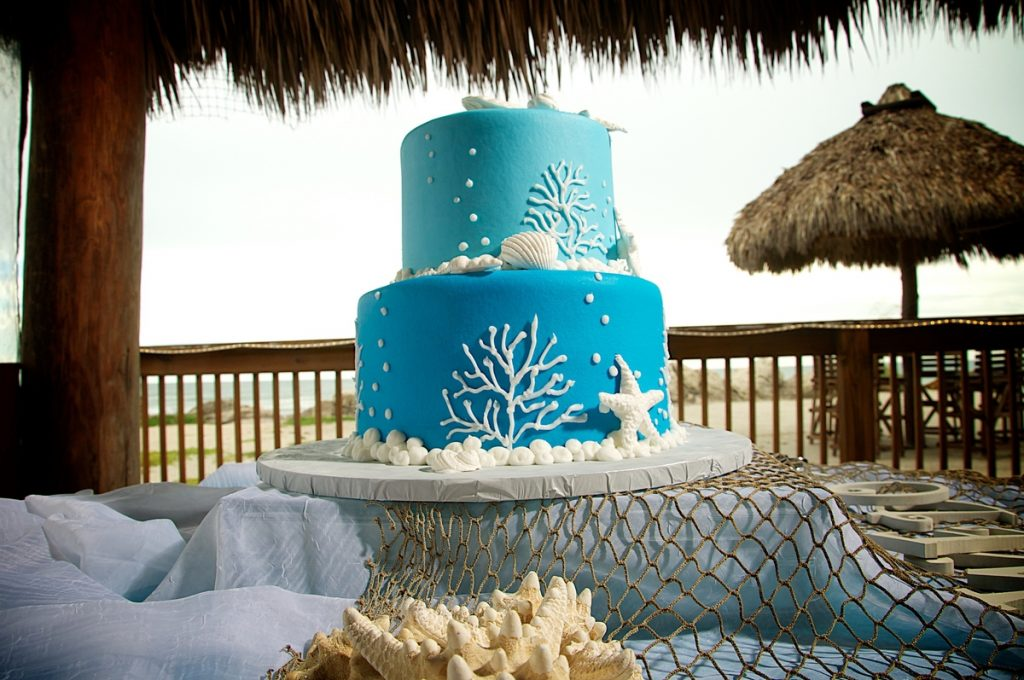 Simple Beach Wedding Cakes Sand Petal Weddings