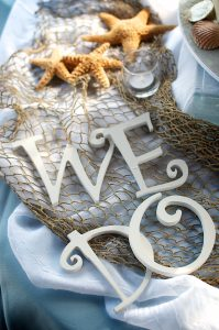 We Do! The first step to planning a Florida destination beach wedding!
