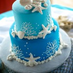 beach wedding Cake #5