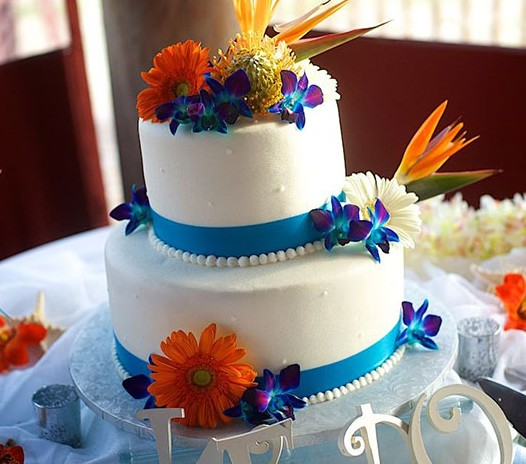 tropical wedding cake pictures wedding cakes 21278