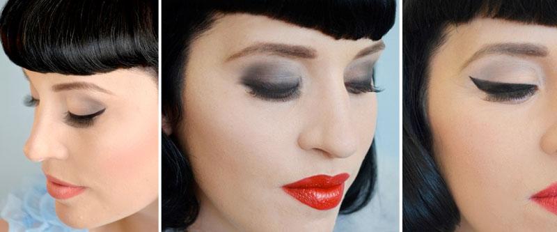 Vintage Flicked Eyeliner Tutorial