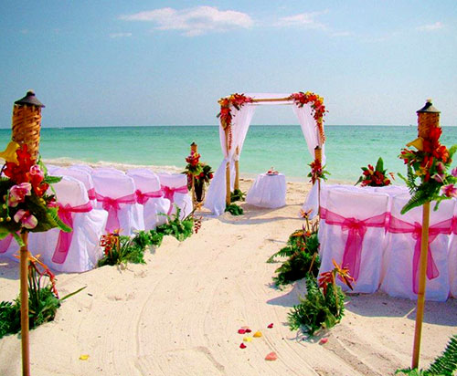 Island Sunset Dreams Ceremony Package