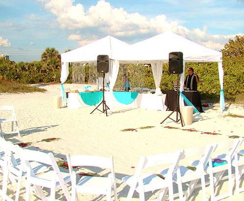 Sand Castle Ceremony & Casual Reception