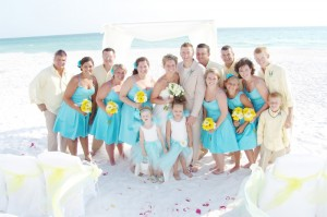 Waves of love for Texas beach wedding packages