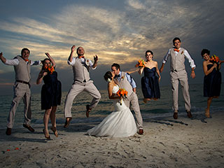 Jessica Luis Anna Maria Island Tiki Hut Wedding