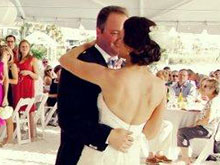 Florida Beach wedding dance