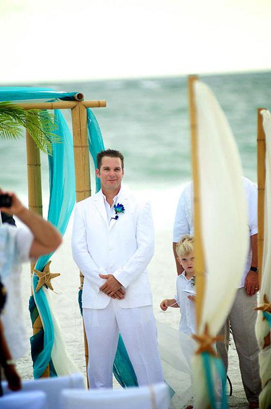 King Neptune Wedding Ceremony