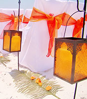 Lantern Orange Moroccan