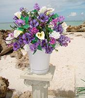 Lavender Garden Alter