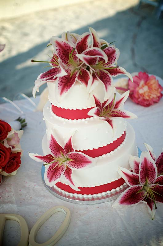 Wedding Cakes With Stargazer Lilies Red-lily-wedding-cake.jpg