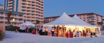 Florida beach wedding reception packages all inclusive