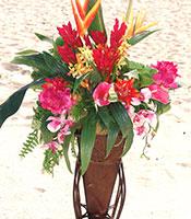 Tropical Hawaiian Alter