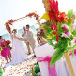 Florida Beach wedding ceremony