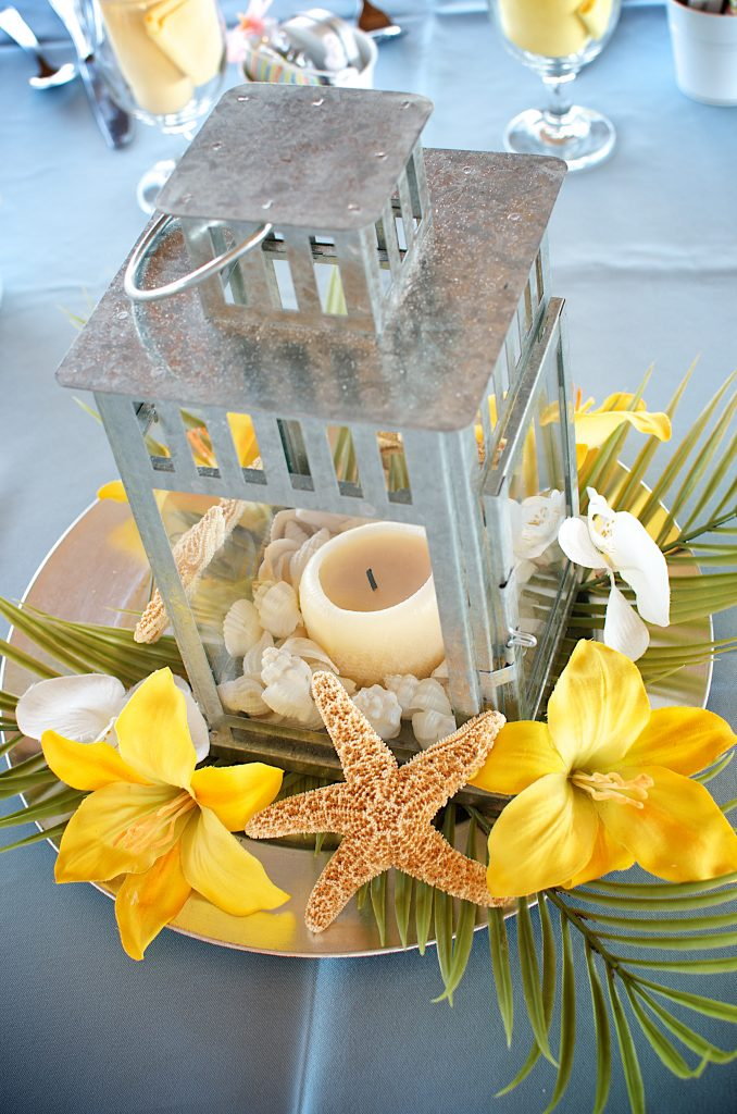 Lemon Yellow Beach Wedding Theme