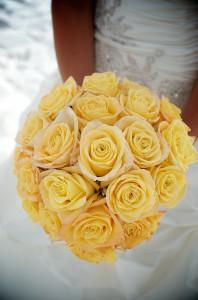 yellow beach wedding 8 (2)