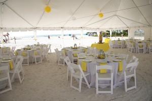 yellow beach wedding 8