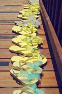 yellow beach wedding 9